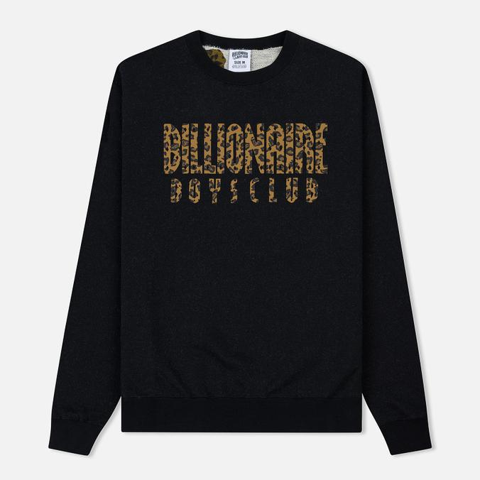 Мужская толстовка Billionaire Boys Club Straight Logo Reversible Crewneck Black