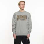 Мужская толстовка Billionaire Boys Club Straight Logo Reversible Crewneck Heather Grey фото- 5