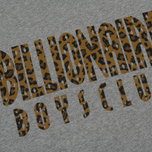 Мужская толстовка Billionaire Boys Club Straight Logo Reversible Crewneck Heather Grey фото- 2