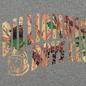 Мужская толстовка Billionaire Boys Club Tree Camo Arch Logo Popover Hoodie Heather Grey фото - 2