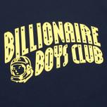 Billionaire Boys Club Vacation Reversible Crewneck Men`s Sweatshirt Navy/Yellow photo- 2