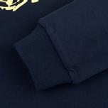 Billionaire Boys Club Vacation Reversible Crewneck Men`s Sweatshirt Navy/Yellow photo- 3