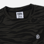 Мужская толстовка Billionaire Boys Club Zebra Camo All-Over Print Crew Neck Charcoal фото- 1
