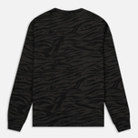 Мужская толстовка Billionaire Boys Club Zebra Camo All-Over Print Crew Neck Charcoal фото- 4