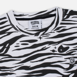 Мужская толстовка Billionaire Boys Club Zebra Camo All-Over Print Crew Neck White фото- 1