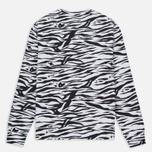 Мужская толстовка Billionaire Boys Club Zebra Camo All-Over Print Crew Neck White фото- 4