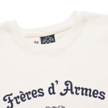 Мужская толстовка Bleu De Paname Freres D'Armes Ecru фото- 1