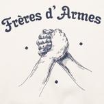Мужская толстовка Bleu De Paname Freres D'Armes Ecru фото- 2