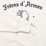 Мужская толстовка Bleu De Paname Freres D'Armes Ecru фото- 3