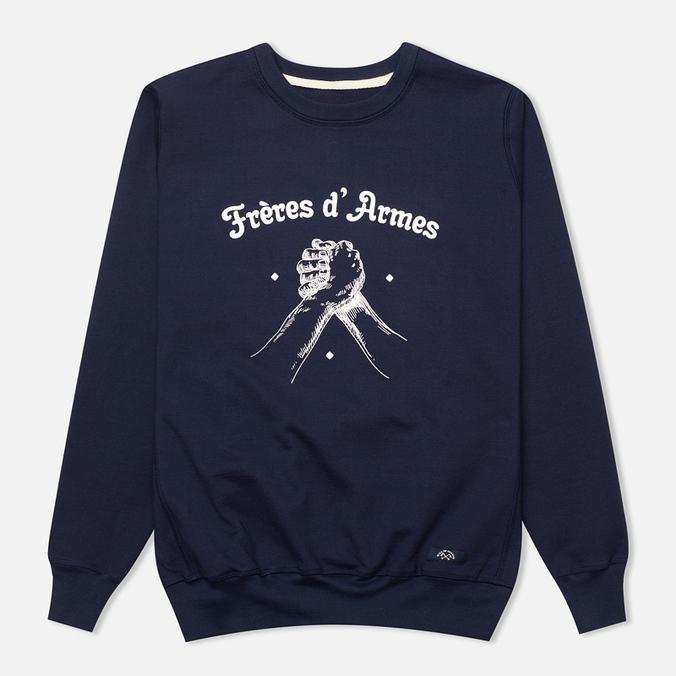 Мужская толстовка Bleu De Paname Freres D'Armes Marine