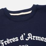 Мужская толстовка Bleu De Paname Freres D'Armes Marine фото- 1