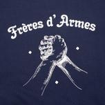 Мужская толстовка Bleu De Paname Freres D'Armes Marine фото- 2