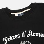 Bleu De Paname Freres D'Armes Men's Sweatshirt Noir photo- 1