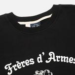 Мужская толстовка Bleu De Paname Freres D'Armes Noir фото- 1