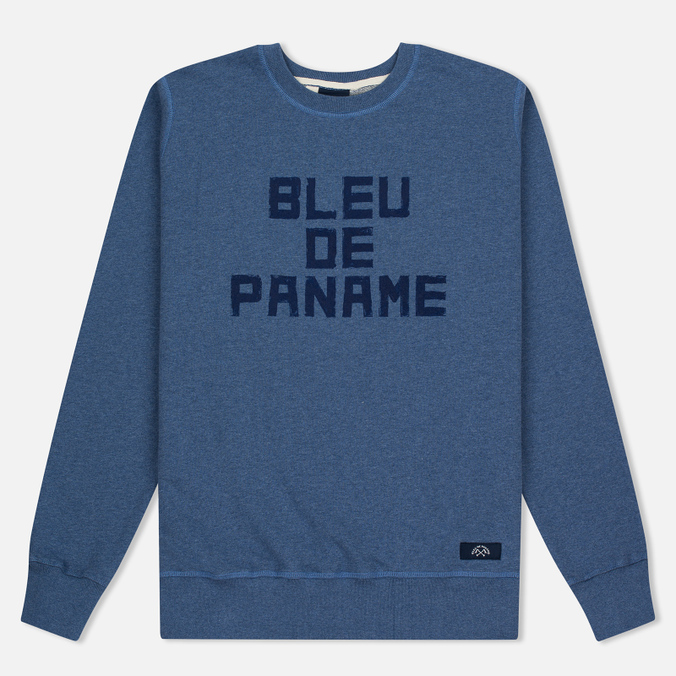 Мужская толстовка Bleu De Paname Print BDP Blue