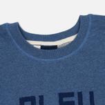 Мужская толстовка Bleu De Paname Print BDP Blue фото- 1