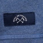 Мужская толстовка Bleu De Paname Print BDP Blue фото- 4