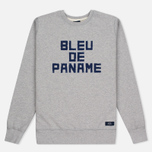 Bleu De Paname Print BDP Men's Sweatshirt Ecru photo- 0