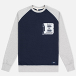 Bleu De Paname Raglan BDP Men's Longsleeve Blue photo- 0