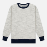 Мужская толстовка Blue Blue Japan Big Slab Inside Out Old School Sweat Grey фото- 0