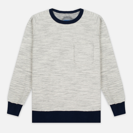 Мужская толстовка Blue Blue Japan Big Slab Inside Out Old School Sweat Grey
