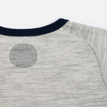 Мужская толстовка Blue Blue Japan Big Slab Inside Out Old School Sweat Grey фото- 4