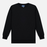 Мужская толстовка Blue Blue Japan J5445 Crepe Crew Neck Black фото- 0