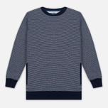 Мужская толстовка Blue Blue Japan J5445 Crepe Crew Neck Navy фото- 0