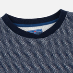 Мужская толстовка Blue Blue Japan J5445 Crepe Crew Neck Navy фото- 1