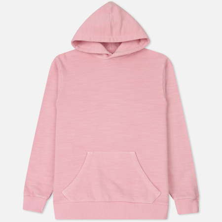 Мужская толстовка Blue Blue Japan J5761 Bump Inlay Hoodie Pink