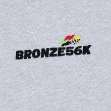 Мужская толстовка Bronze 56K Embroidered Daytona Hoody Ash Grey фото- 2