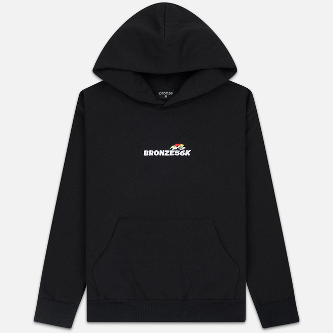 Мужская толстовка Bronze 56K Embroidered Daytona Hoody Black