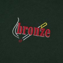 Мужская толстовка Bronze 56K Embroidered Smoke Hoody Dark Green фото- 2
