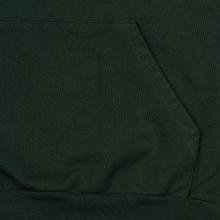 Мужская толстовка Bronze 56K Embroidered Smoke Hoody Dark Green фото- 3