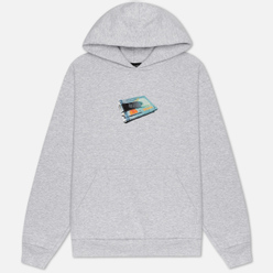 Мужская толстовка Bronze 56K Money Clip Hoody Ash Grey