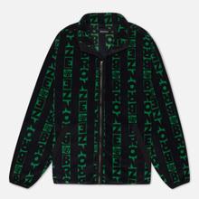 Мужская толстовка Bronze 56K Vertical Full Zip Fleece Black/Green фото- 0