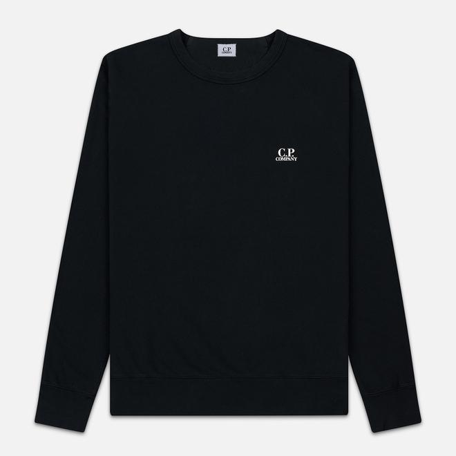 Мужская толстовка C.P. Company Basic Crew Neck Garment Dyed Black