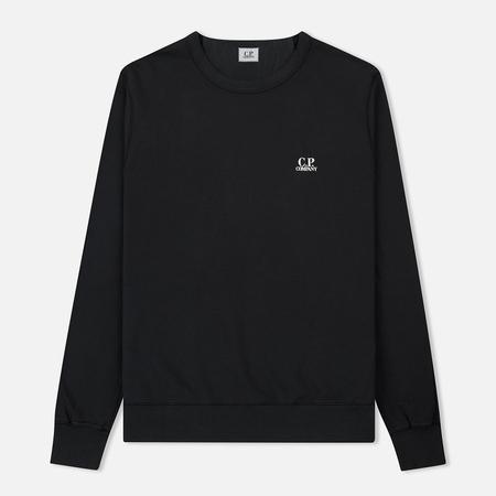 Мужская толстовка C.P. Company Basic Crew Neck Garment Dyed Black Coffee
