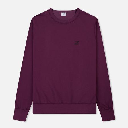 Мужская толстовка C.P. Company Basic Crew Neck Garment Dyed Gloxinia Purple