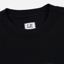 Мужская толстовка C.P. Company Blurred Graphic Logo Black фото- 1