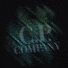 Мужская толстовка C.P. Company Blurred Graphic Logo Black фото- 2