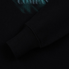 Мужская толстовка C.P. Company Blurred Graphic Logo Black фото- 3