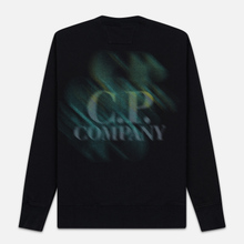 Мужская толстовка C.P. Company Blurred Graphic Logo Black фото- 4