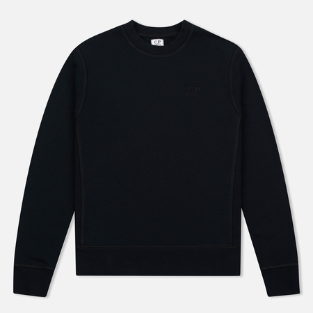 Мужская толстовка C.P. Company Classic Stitch Logo Crew Black
