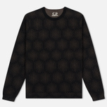 Мужская толстовка C.P. Company Crew Neck Fleece Dark Olive фото- 0