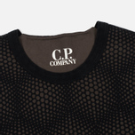 Мужская толстовка C.P. Company Crew Neck Fleece Dark Olive фото- 1