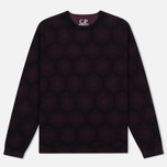 Мужская толстовка C.P. Company Crew Neck Fleece Purple фото- 0