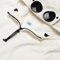 Мужская толстовка C.P. Company Diagonal Fleece Full-Zip Goggle Hooded Gauze White фото - 1