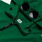Мужская толстовка C.P. Company Diagonal Fleece Full-Zip Goggle Hooded Jelly Bean фото - 1