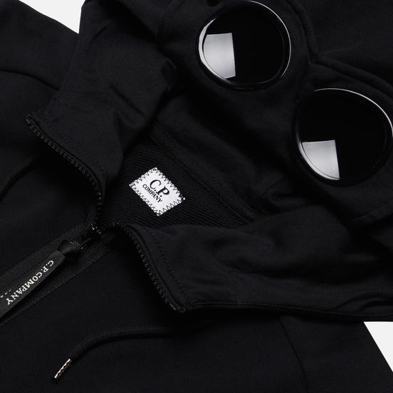 Мужская толстовка C.P. Company Diagonal Fleece Goggle Hooded Black